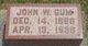 John Westley Gum
