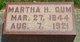 Martha Hannah <I>Peters</I> Gum