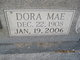 Dora Mae <I>Rees</I> Blackwell