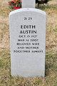Profile photo:  Edith Austin