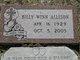 Profile photo:  Billy Winn Allison