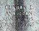 Profile photo:  Clinton L Anderson