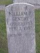 William H Gentry