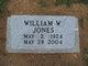 William W. Jones, Jr