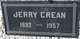 Jerry George Crean