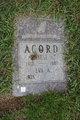 Profile photo:  Ernest A. Acord