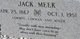 Jack Meek