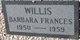 Barbara Frances Willis