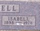 "Isabell Maureen ""Izzy"" <I>Warnick</I> Boswell"