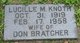 Lucille M. <I>Knoth</I> Bratcher