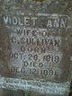 Violet Ann <I>Walker</I> Sullivan