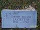 Garner Rowland Lassetter