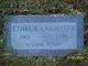 """Ethel Elizabeth """"Lizzie"""" <I>Brink</I> Lassetter"""