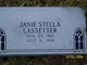 Janie Stella <I>Wear</I> Lassetter