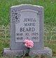 Profile photo:  Jewell Marie <I>Canida</I> Beard