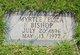 Profile photo:  Myrtle Eliza <I>Allsup</I> Bishop