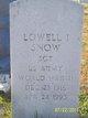 Lowell Ishmal Snow