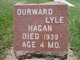 Profile photo:  Durward Lyle Hagan