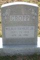 Wilbur Ernest Cropp, Jr