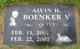 "Profile photo:  Alvin H. ""Quint"" Boenker"