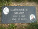 "Catherine ""Grammie"" <I>McGarvey</I> Sharp"