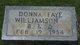 Donna Faye Williamson