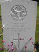 Pvt James Brady
