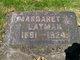 Margaret J <I>Shephard</I> Layman