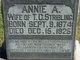 Profile photo:  Annie A. Stribling