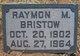 Raymon Marcellus Bristow