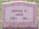 Profile photo:  Minnie Aber