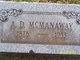 """A. Delbert """"Mac"""" McManaway"""