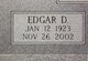 """Edgar Daniel """"Jabo"""" Lee"""
