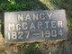 Nancy <I>Lanridge</I> McCarter