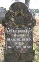 Sarah <I>Harris</I> Bayless