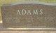 Mary <I>Romberg</I> Adams