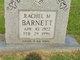 Rachel M. Barnett