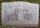 Anna Elizabeth <I>Lowe</I> Agnew
