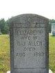 Elizabeth <I>Camp</I> Allen