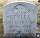 Sylvia Denise Styles
