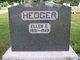 Ellen E <I>Yocum</I> Hedger