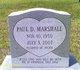 Paul Dennis Marshall