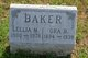Profile photo:  Ora Beecher Baker