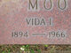 Profile photo:  Vida Irene <I>McMillan</I> Moorman