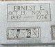 Profile photo:  Ernest E. Ward