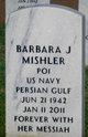 Barbara Joan <I>Curnutte</I> Mishler