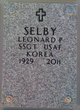 "Leonard Patrick ""Pat"" Selby"