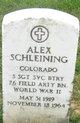 Alex Schleining