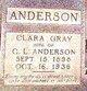 Profile photo:  Clara Elvin <I>Gray</I> Anderson