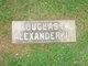 Profile photo:  Douglas B. Alexander, Jr
